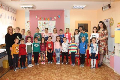 ІV А група - г-жа Ваня Дамянова, г-жа Галя Лилова, Даниела Благова - помощник - възпитател